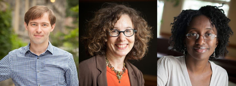 David Bateman, Jill Frank, and Jamila Michener