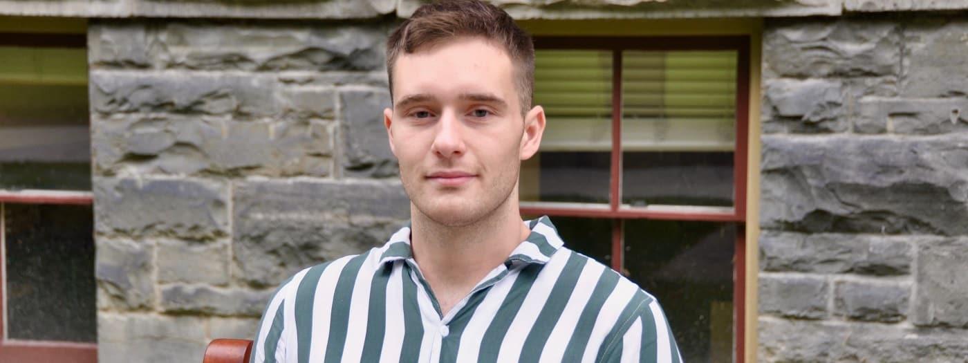 GOVT PhD Student Cameron Mailhot