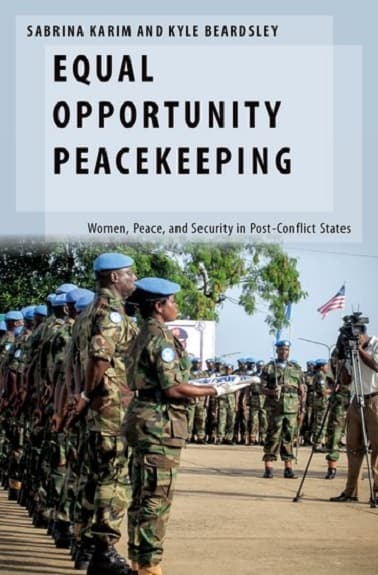 Equal Opportunity Peacekeeping Book Cover